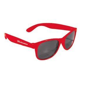 budweiser Accessories - 1990s Budweiser wayfarer red frame sunglasses